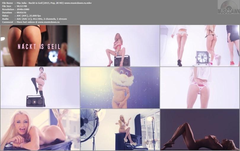 Видео клип Mia Julia - Nackt is Geil 2015 2KHD HD Video