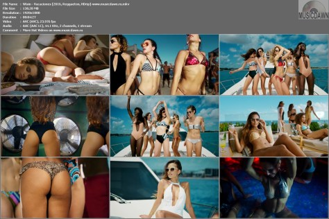 Клип Wisin – Vacaciones [2016, HD 1080p] Music Video