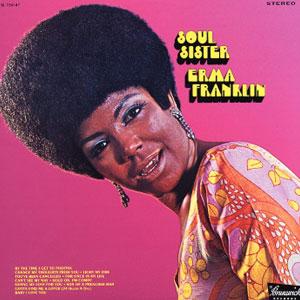 Erma Franklin - Soul Sister 1969 Cover Art
