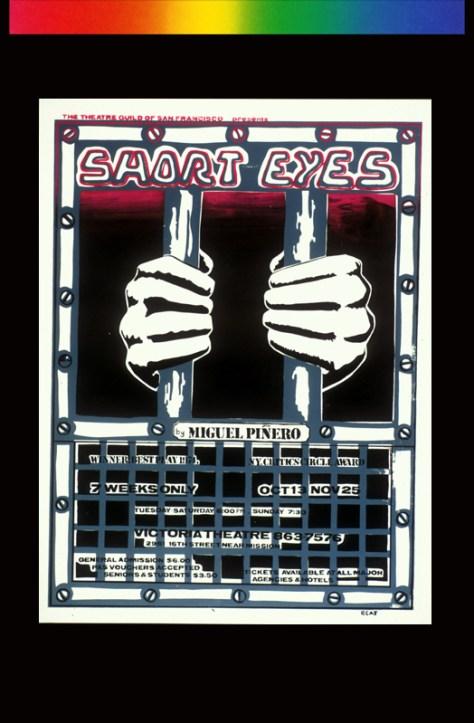 Short Eyes Theater Poster