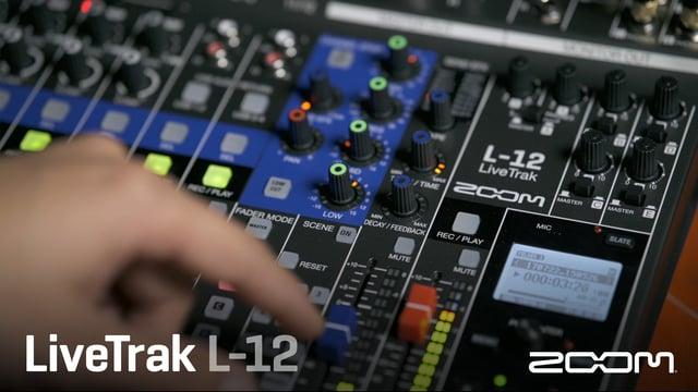 Zoom から 12トラック Mixer / Recorderが新発売!