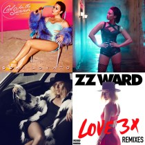 """Enter to win remix CDs from Demi Lovato and ZZ Ward! I'm giving away 4 copies of both Demi's """"Cool For The Summer"""" and """"Love 3X"""" by ZZ Ward."""
