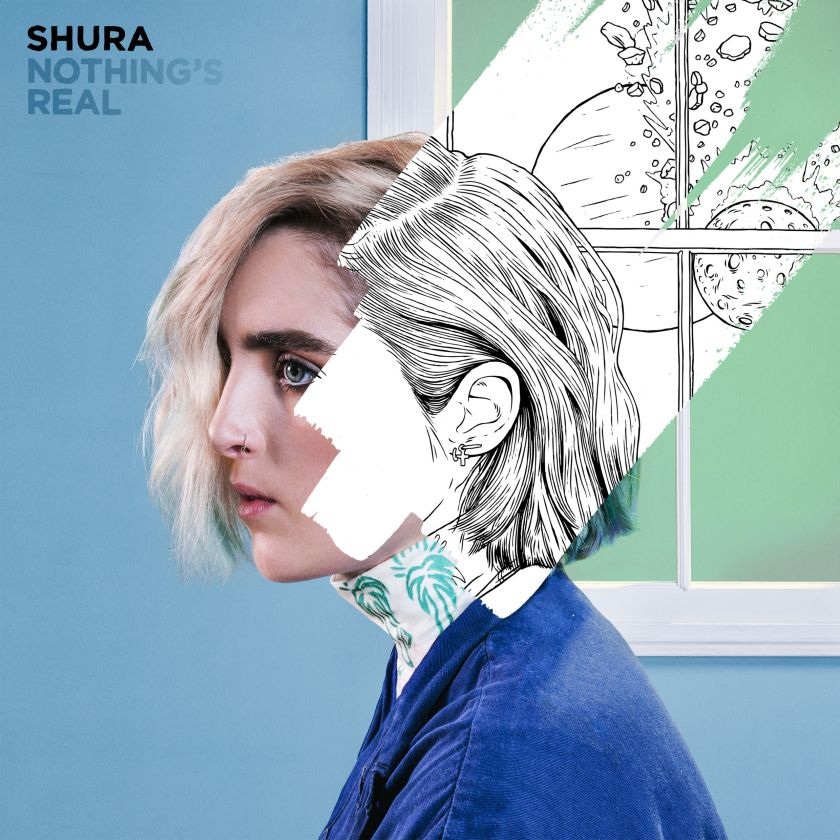 Nothing's Real, the debut album by UK singer/songwriter Shura is out July 8th.