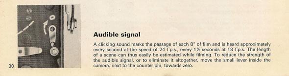Bolex H16 manual