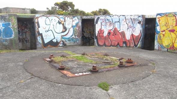 Gun emplacements