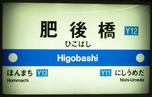 Higobashi Station