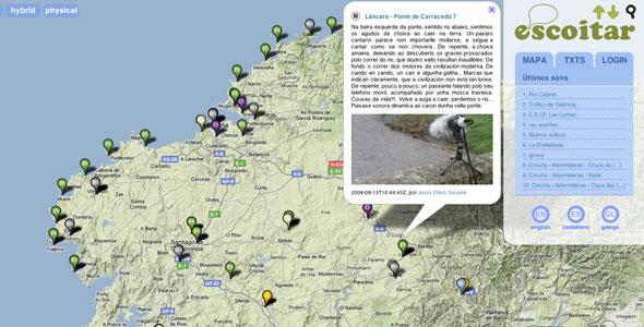 Spain Sound Map