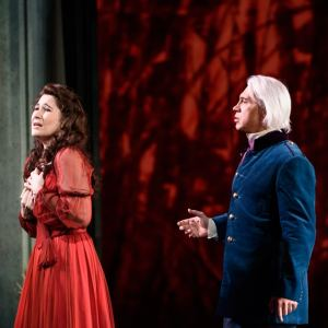 Nicole Car & Dmitri Hvorostovsky(Photo: Bill Cooper)