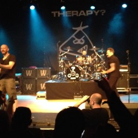 Therapy Live Troublegum tour 2014