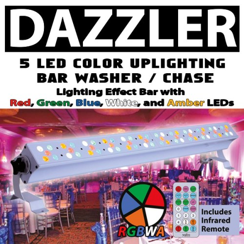 DAZZLER LED Bar RGBWA with IR Remote