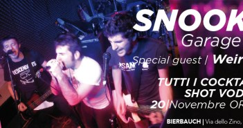 The Snookys + Weird Owls - 20 Novembre, Bierbauch, Cologne (BS)