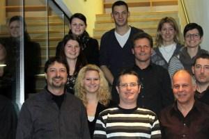 Jahreshauptversammlung 2013 mit Neuwahlen, Der neue Ausschuss, Foto: Mieming-online.at
