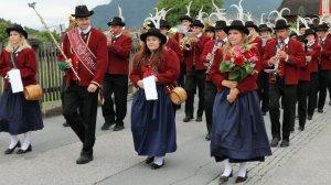 Isidori-Prozession in Untermieming – Fest mit der Musikkapelle Silz, Foto: Mieming-online/Knut Kuckel
