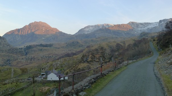 End of a great day's climbing at Ogwen. Photo- Calum Muskett