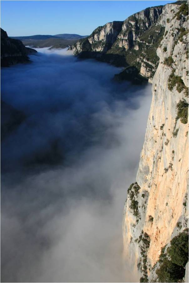 The Verdon Gorge. Photo- Adam Booth