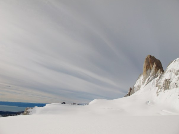 Amazing clouds above Poincenot. Photo - Dave Macleod