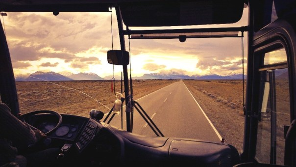 On the road to El Chalten. Photo - Calum Muskett