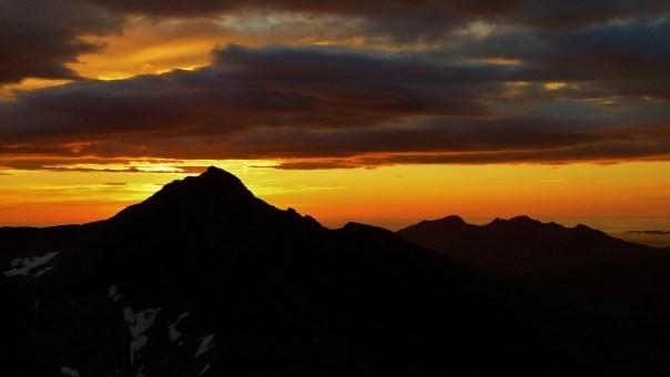 Sunrise or sunset in Kvaløya? Photo - Calum Muskett