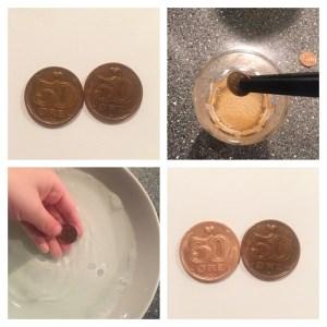 Gamle mønter kan også skinne