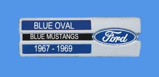 Blue Oval – Blue Mustangs 1967-69