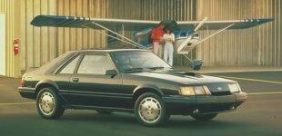 86 Mustang SVO bok