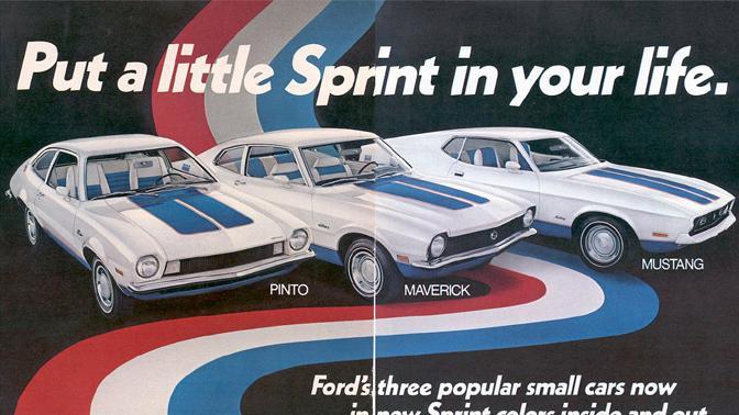 Trzy modele Sprint od Forda