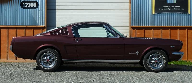 Chyba jednak dobrze się stało że Mustang był produkowany jako 2+2