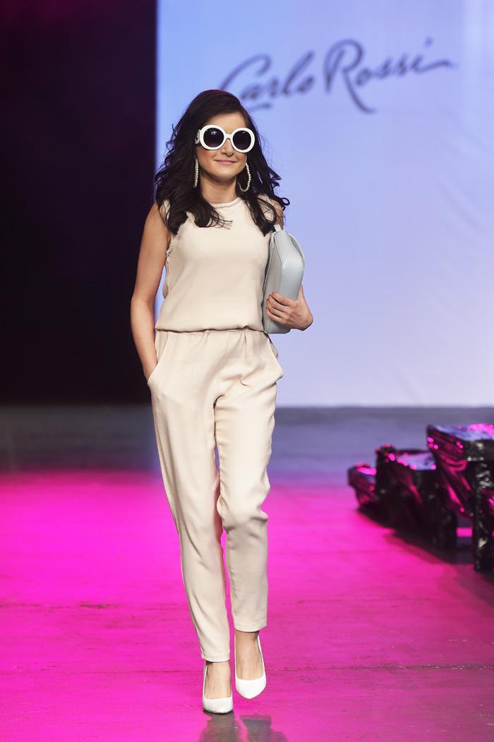 pokaz blogerki Fashion week Carlo Rossi
