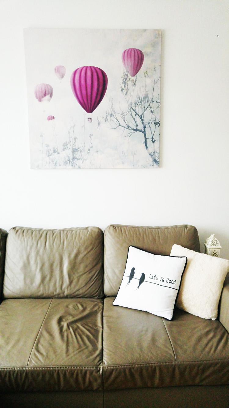 obraz do salonu fioletowy