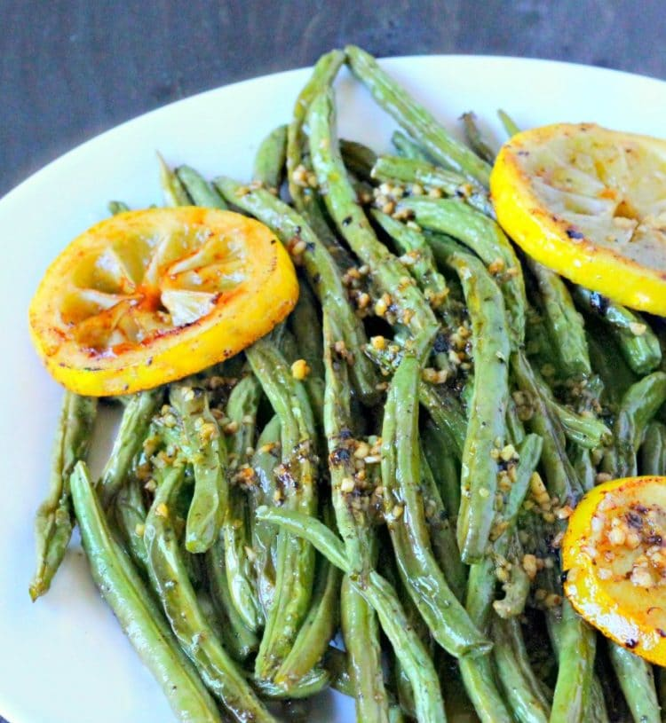 Oven Roasted Green Beans • Must Love Home