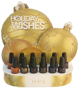 OPI Holiday Wishes nail polish 2009