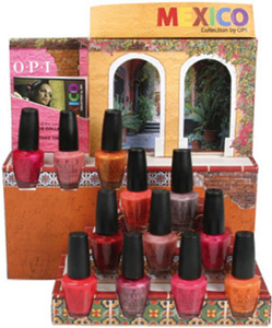 OPI Mexico display