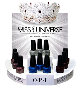 OPI Miss Universe 2011
