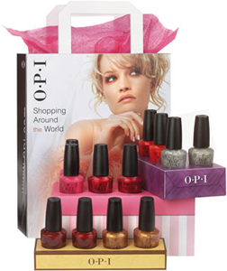 OPI Shopping Around the World