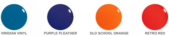 ORLY Plastix color palette
