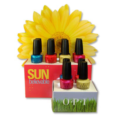 OPI Sunbelievable nail polish