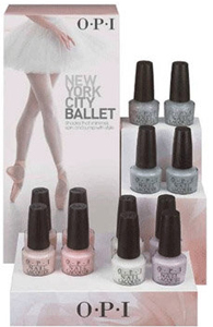 OPI New York City Ballet Spring 2012