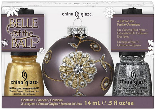China Glaze Let It Snow Belle Of The Ball