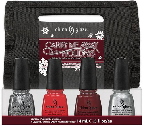 China Glaze Let It Snow Carry Me Away For The Holidays