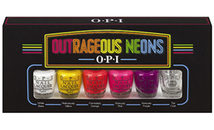 OPI Outrageous neons collection