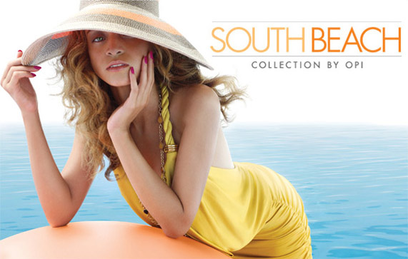 OPI South Beach Nail Polish Collection
