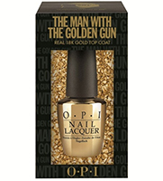 OPI Skyfall Golden Touch Top