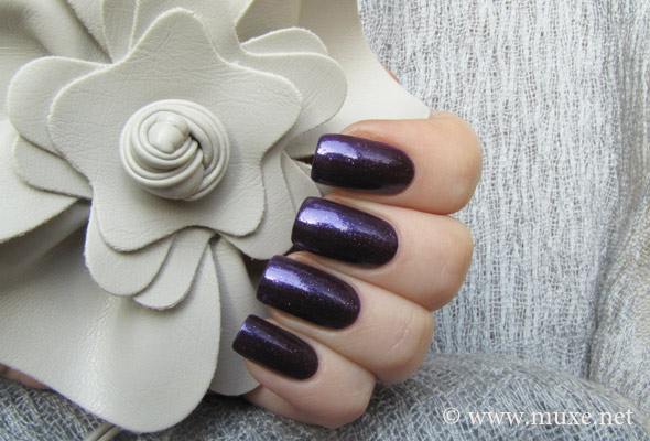 Velvet Rope - purple nail polish Orly swatch