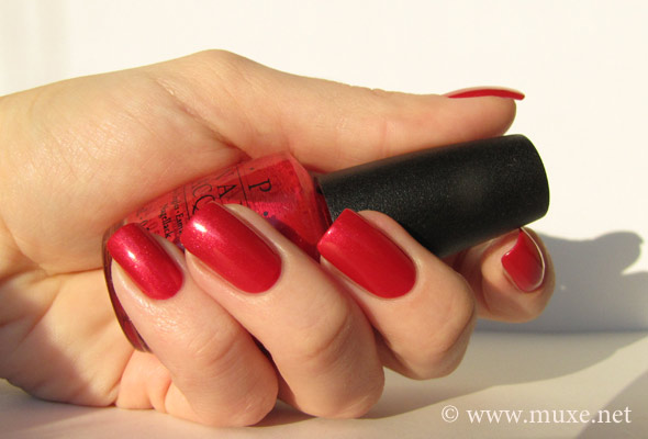 You Rock-apulco Red - OPI pic NL M24