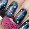 Galaxy Nails Design