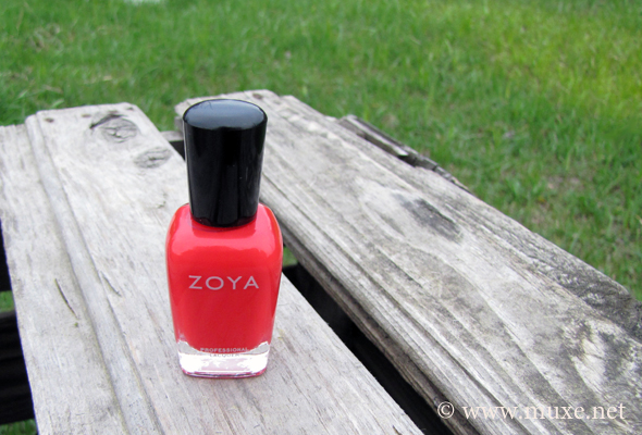 Zoya Maura red polish zp 517