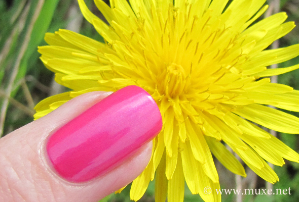 OPI pink polish swatch