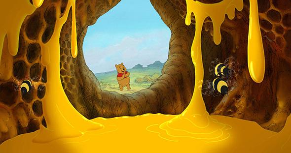 Winnie the Pooh & Honey Hive