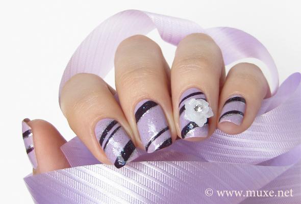 3D nail art flowers