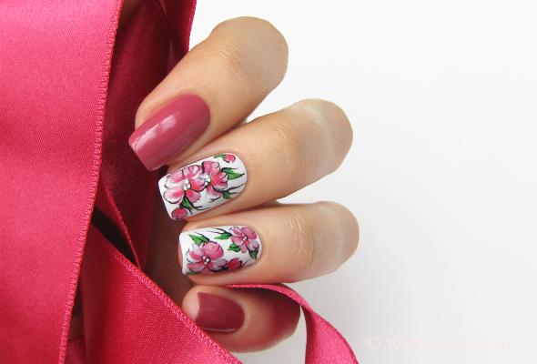 Lumene Rambling Rose #3 nail polish